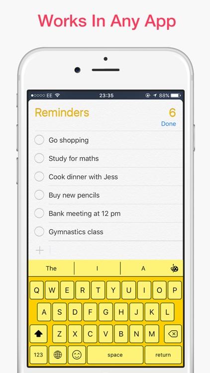 Magic Keyboard - Custom themes and emoji emoticons screenshot-4