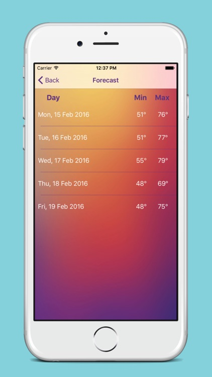Weather Live - Weather forecast, Temperature and Favorite Location screenshot-3