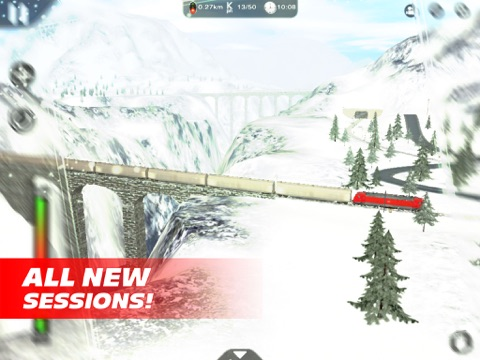 Train Driver Journey 8 - Winter in the Alps для iPad