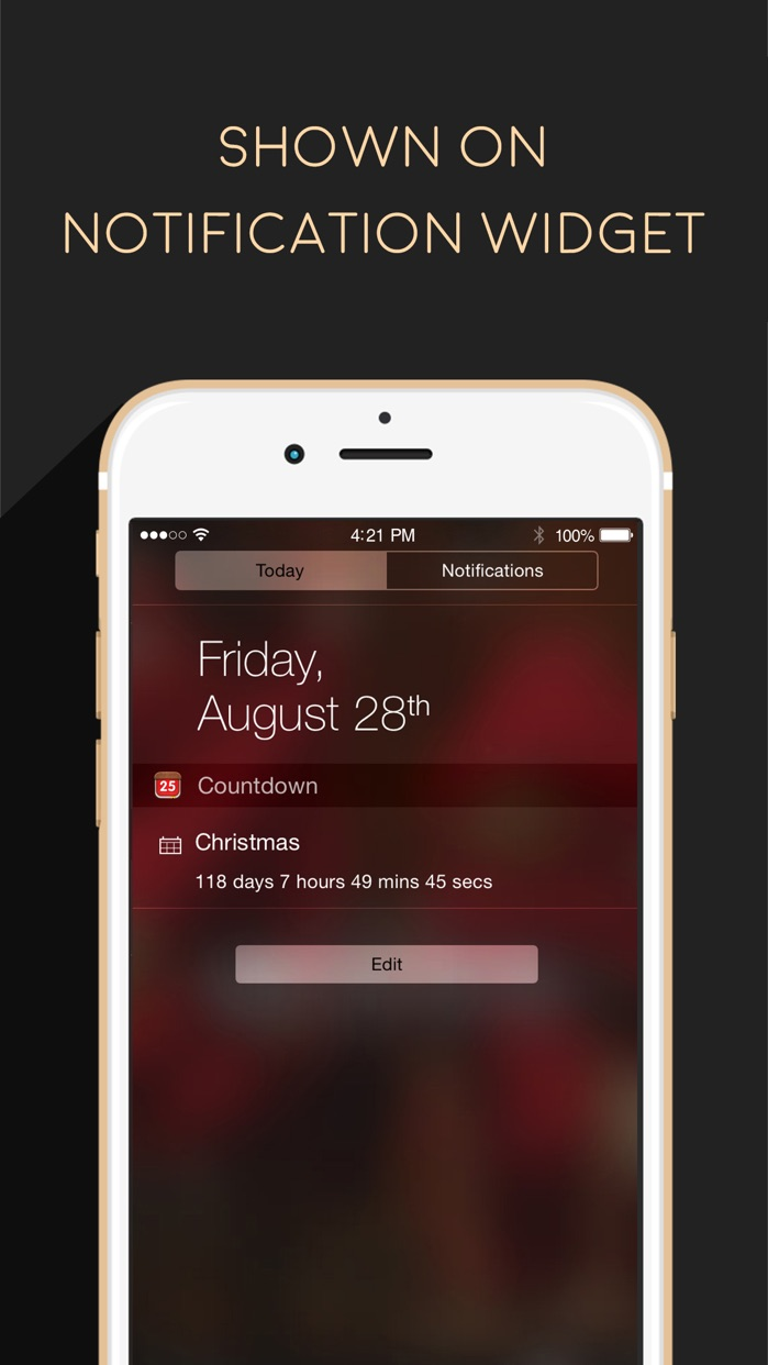Countdown App Free (Big Day Event Timer Reminder) Screenshot