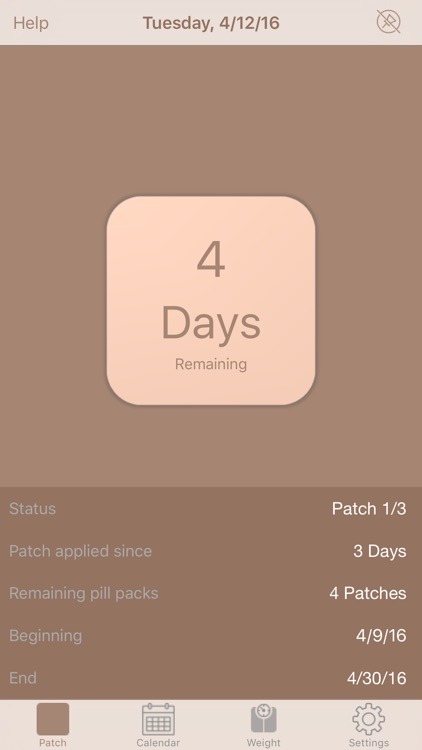 MyPatch - Birth control patch screenshot-0