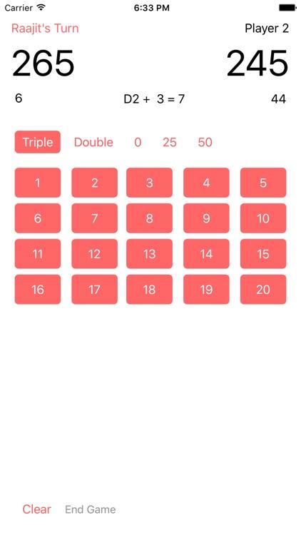 Darts ScoreBoard screenshot-4