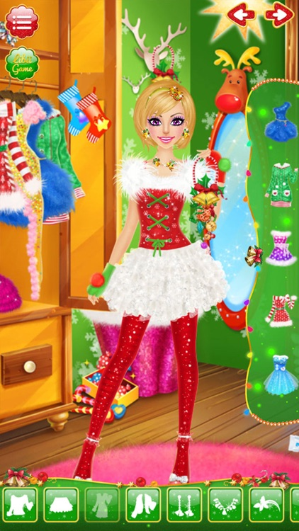 Christmas Salon - Girls Makeup, Dressup and Makeover Games screenshot-3