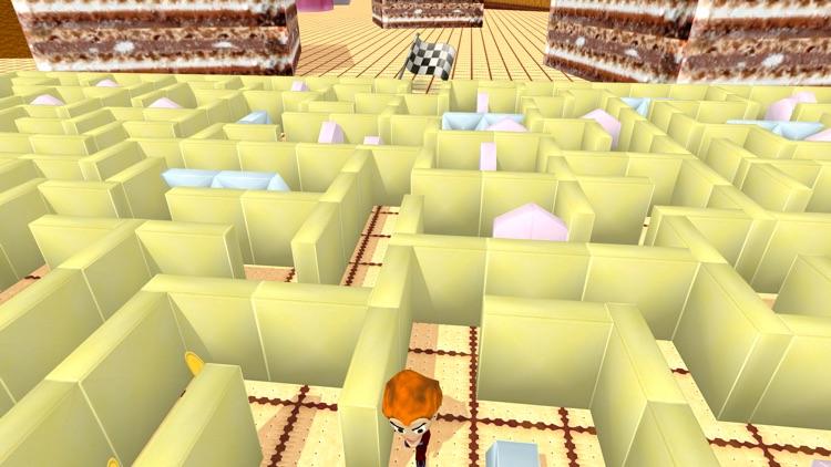 Sweetie Maze 3D - Solve Delicious Labyrinth