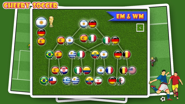 Cheery Soccer screenshot-1