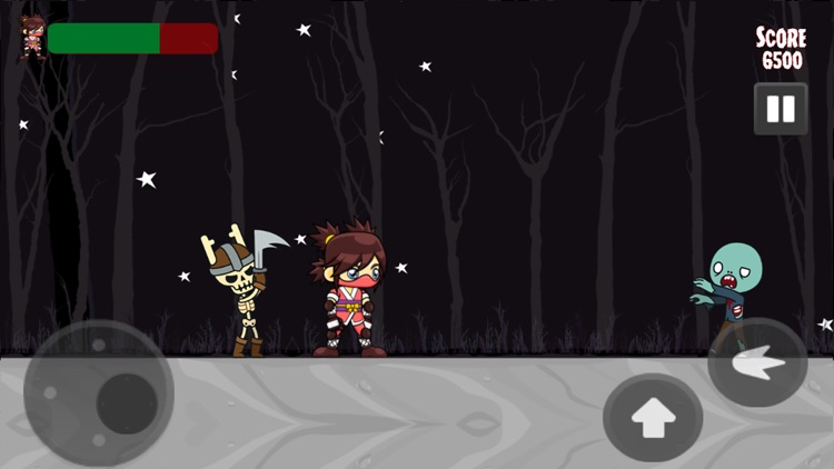 Zombies Vs Ninja Game screenshot-0