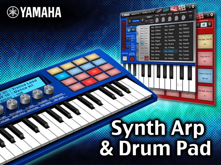 Synthesizer Arpeggiator & Drum Pad - US screenshot-0