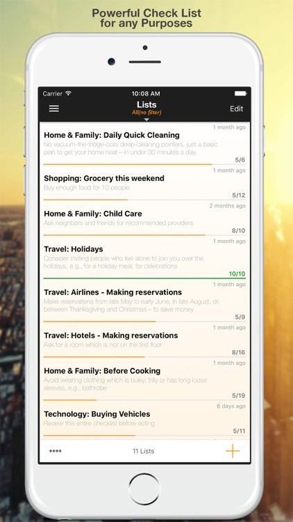Check List++ : To-do & Task List | Task Manager screenshot-0