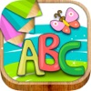 学英文背单词英语口语音标儿童游戏免费好玩 - abc字母表6岁宝宝画画涂手早教育儿软件