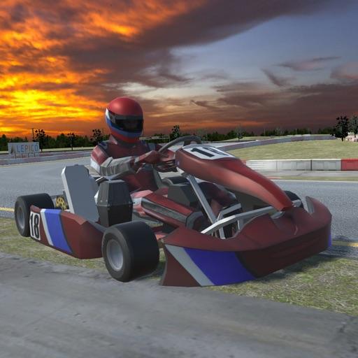 Baixar Go Karts Racing 3D - Extreme Go Karts Driving Simulator para iOS