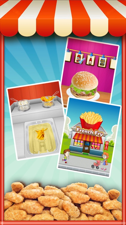 Fast Food Mania! - Cooking Games FREE