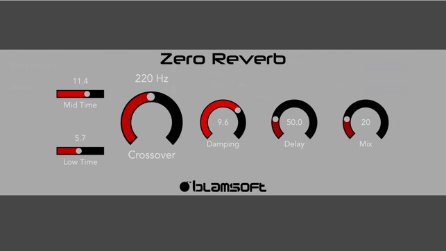 Zero Reverb Screenshot