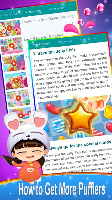 Guide for Candy Crush Jelly Saga screenshot four