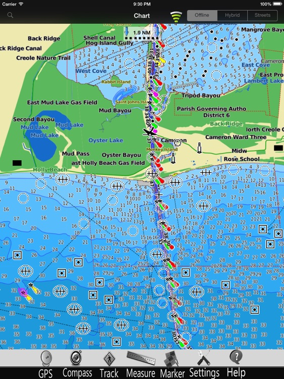 Louisiana Nautical Charts Pro screenshot-3