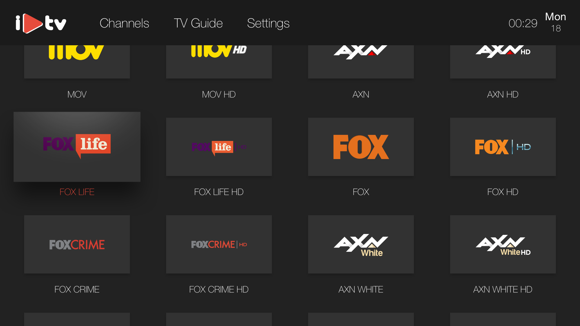 iPlayTV  -  IPTV/M3U Player screenshot 1
