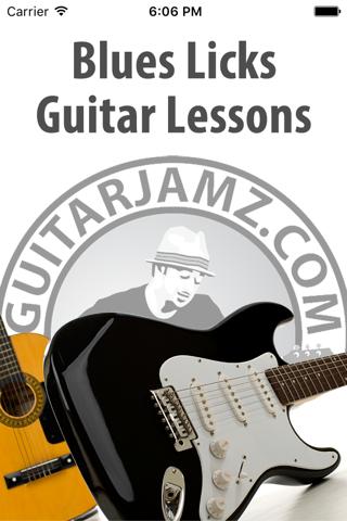 Blues Guitar Licks Lessons - náhled