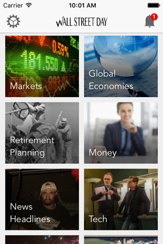 Wall Street Day: Business, Money, Finance Magazine - náhled