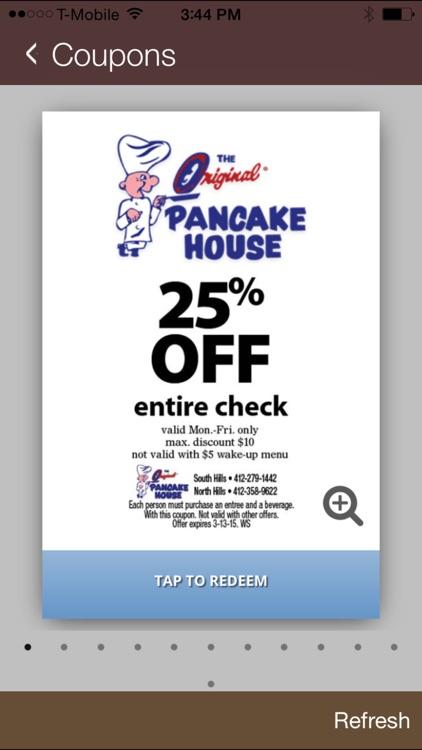 Original Pancake House Pitt