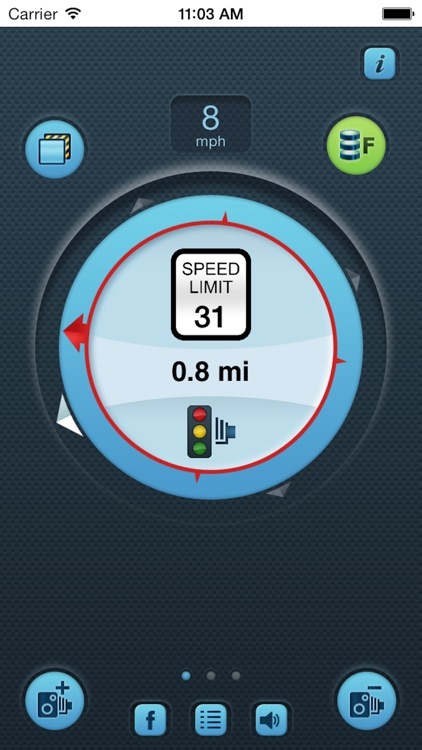 i SpeedCam USA (Speed Camera Detector with GPS Tracking) screenshot-4