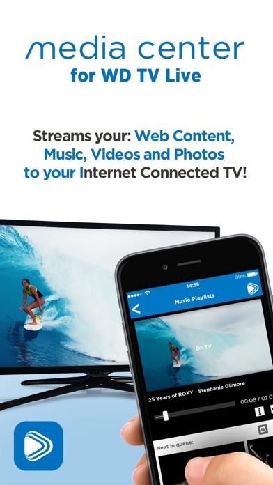 Medienzentrum für WD TV LiveScreenshot von 1