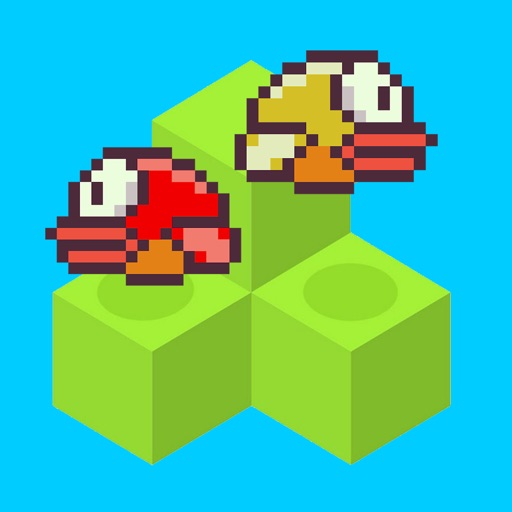 Flappy Qubes - A Replica of the Original Impossible Qubed Bird Game is Back