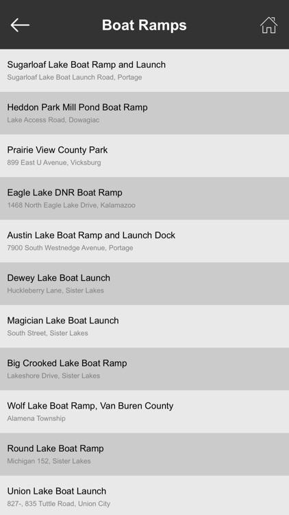 Michigan Boat Ramps & Fishing Ramps screenshot-3