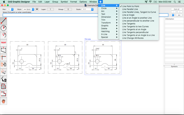 How to open dxf on mac