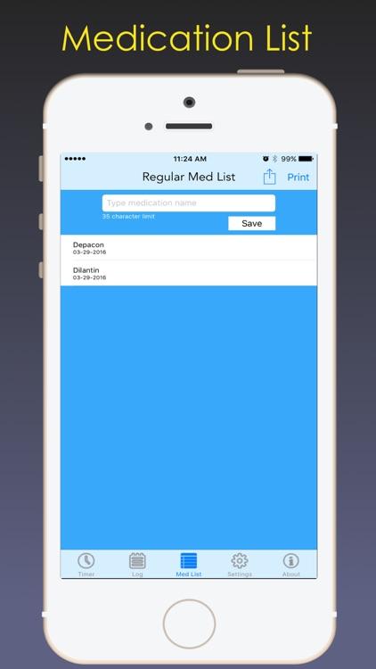 Seizure Watch-Record seizure information on the go screenshot-3