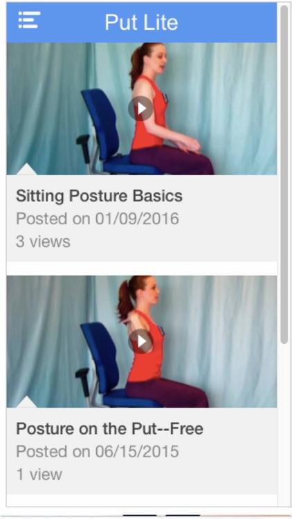 Posture on the Put Lite by Myriah Lynn