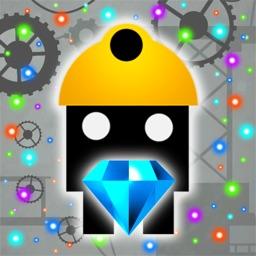 Robo Miner Survival Games - Gold Mine Robot Endless Run Game on Spinning Wheel Craft