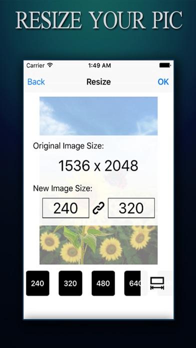 Image Resizer ADVANCED - Photo Resize Editor To Reshape