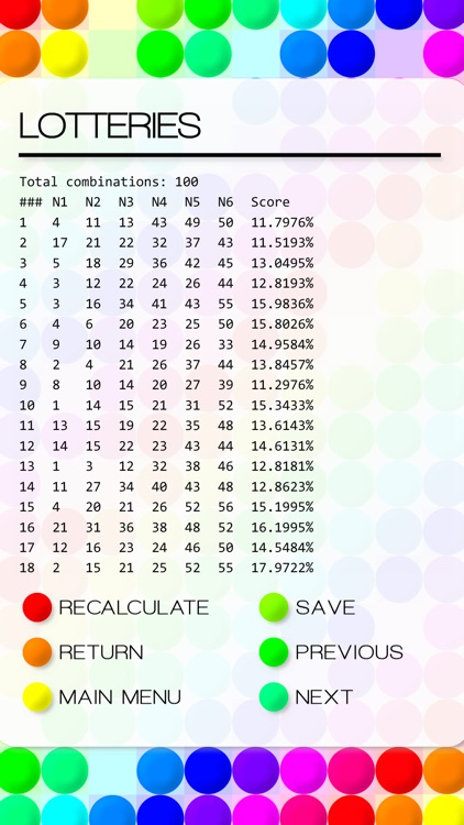 Calculated - Lotto Number Generator screenshot-3