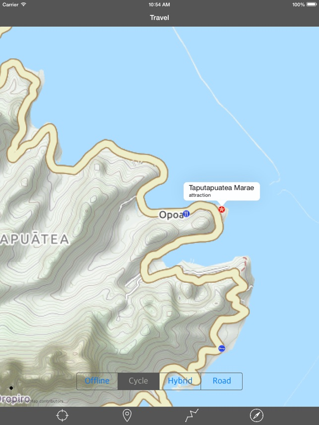 RAIATEA u2013 GPS Travel Map Offline