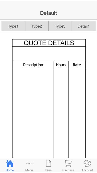 Business Quote Screenshots