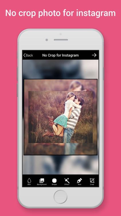 No Crop Photo for Instagram