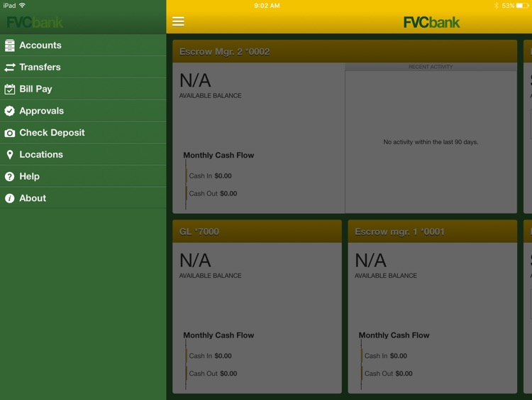 FVCbank Business for iPad