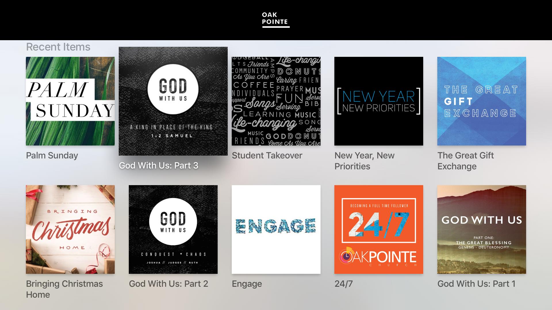 Oak Pointe Church App screenshot 7
