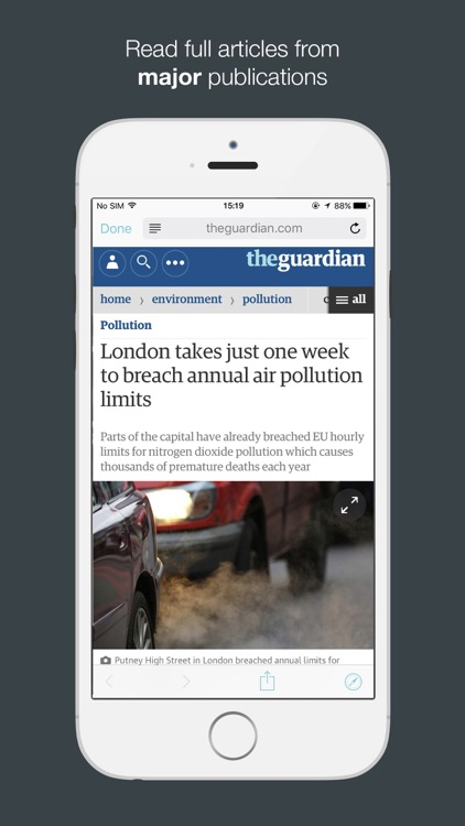 JarvisNews - AI Summarized News & Stories screenshot-4