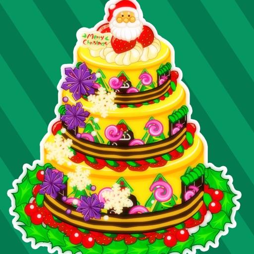 定制圣诞节蛋糕