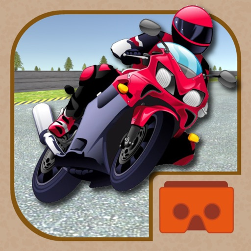 VR Bike Racing 3D for Cardboard Virtual Reality Viewer Glasses
