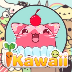 Kawaii Sticker Photo Editor - Girls Selfie Camera with Cute Manga Stamp