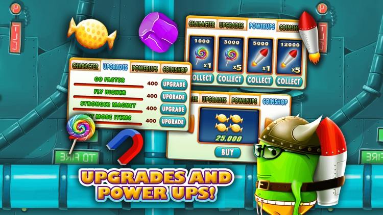 Monster Jump Race-Smash Candy Factory Jumping Game screenshot-4
