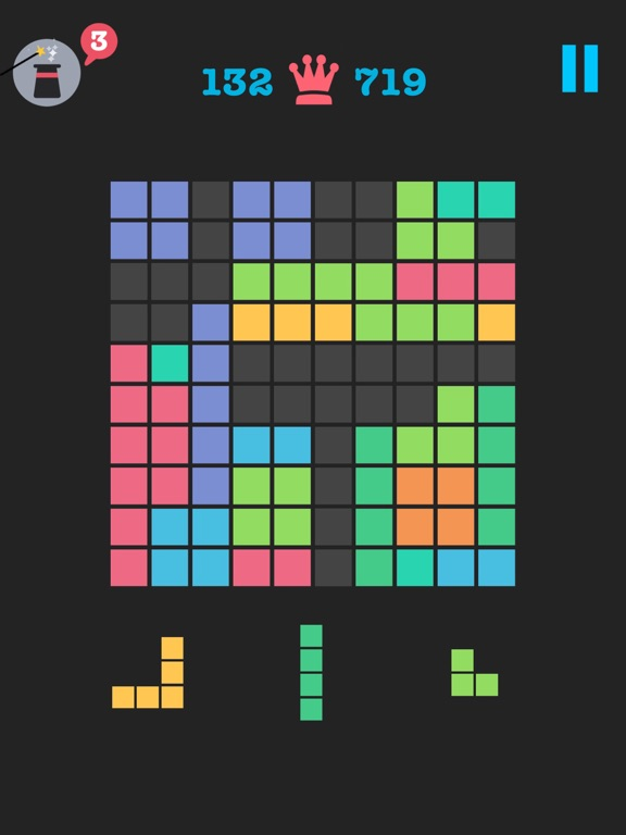 Free to Fit: Color block puzzle logic stack dots на iPad