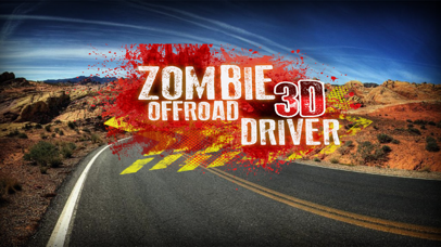 Zombie OffRoad Driver 3D - 4x4 Off Road Parking Simulator screenshot two