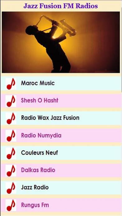 Jazz Fusion FM Radios screenshot one