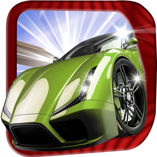 A Super Car Motor - Speedway Car Racing