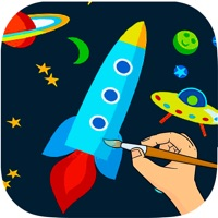 Codes for Outer Space Coloring Book -  Astronaut Alien Spacecraft Draw & Paint Pages Learning Games For Kids Hack