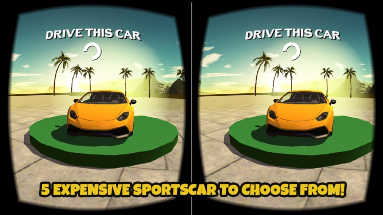 VR Car Driving Simulator : VR Game for Google Cardboard screenshot-2