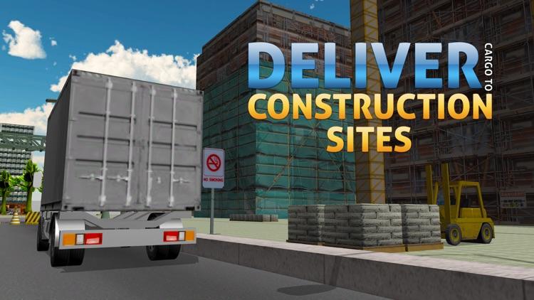 3D Cargo Truck Simulator – Mega lorry Driving & parking simulation game screenshot-3