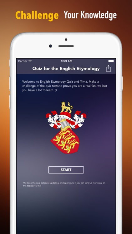 English Etymology Trivia and Quiz: Fun Languages Test Games
